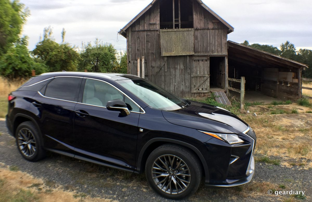 The 2016 Lexus RX 350 F SPORT First Drive • GearDiary