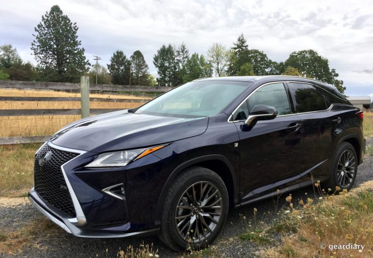 44-Gear Diary Test Drives the 2016 Lexus RX.14 HDR