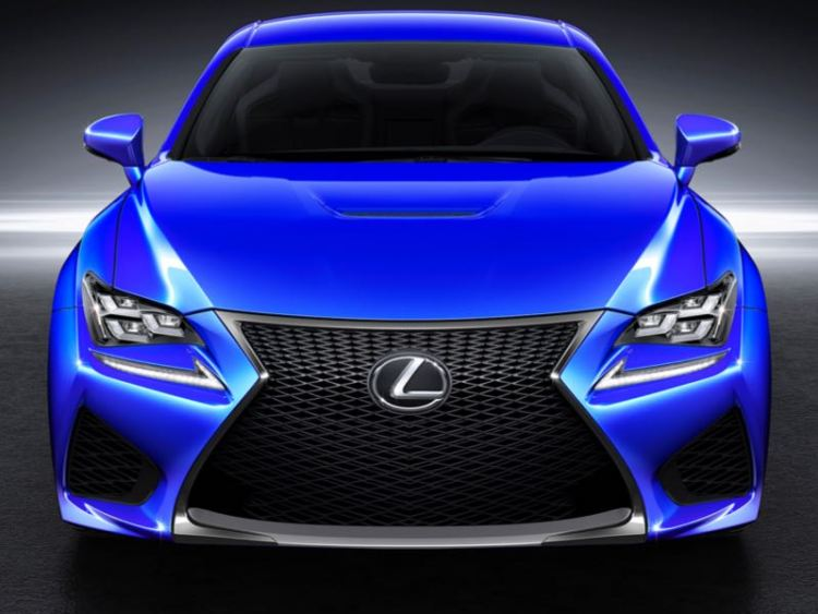 2015 Lexus RC F/Images courtesy Lexus