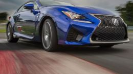 GearDiary 2015 Lexus RC F at Home on Street or Track