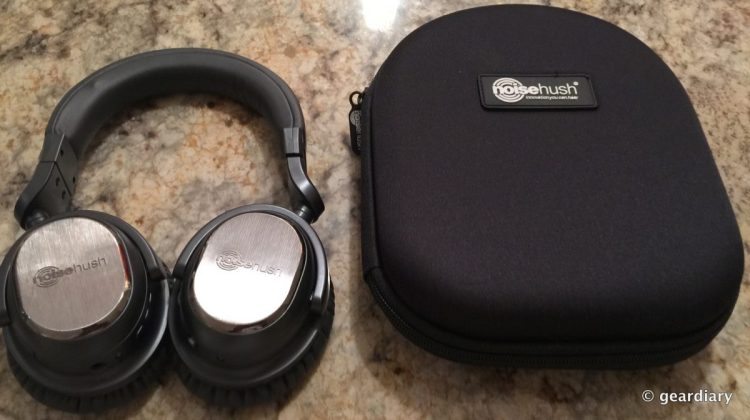 Get Rid of Outside Noise With NoiseHush's i9BT Headphones