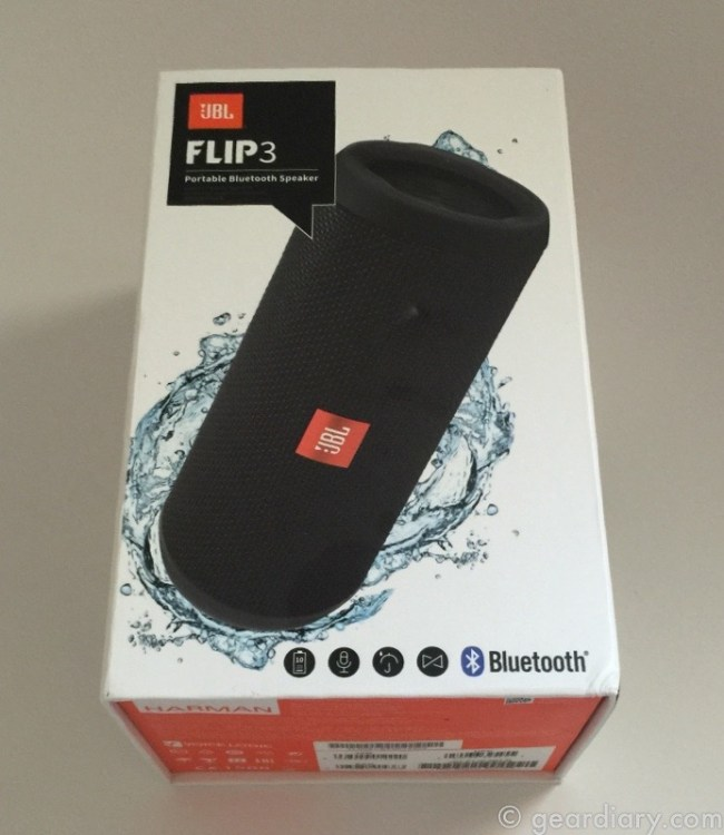 The JBL Flip 3 is an Impressive Splashproof Bluetooth Speaker for Under $100