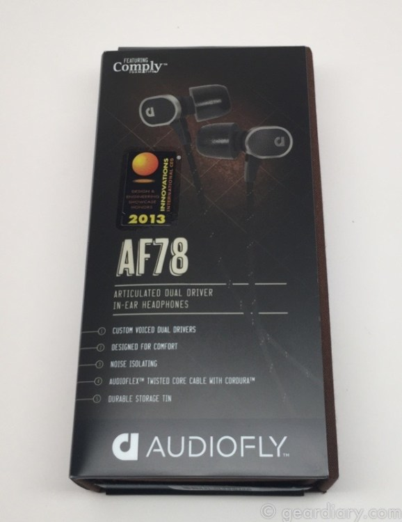 Audiofly AF78 Premium In-Ear Headphones