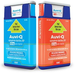 Auvi-Q Epinephrine Injectors Recall Alert!