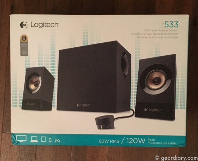GearDiary The Logitech Z533 Multimedia Speaker System Offers Big Sound for Under $100