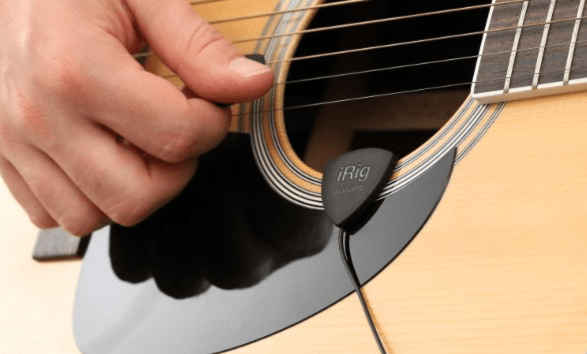 IK Multimedia iRig Acoustic Reinvents Guitar Miking for Mobile