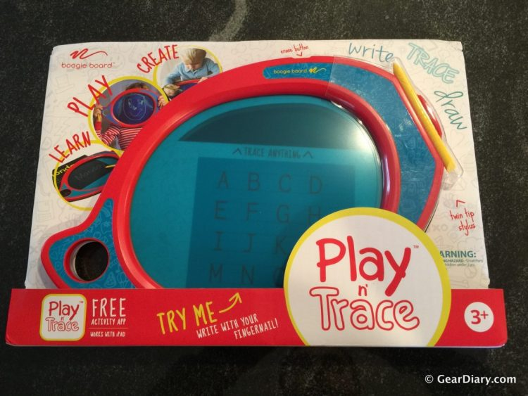GearDiary Boogie Board Play n' Trace eWriter for Kids is my #1 Holiday Gift Winner