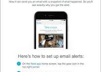 Nest Now Sends a Photo with Your Nest Cam Email Alert
