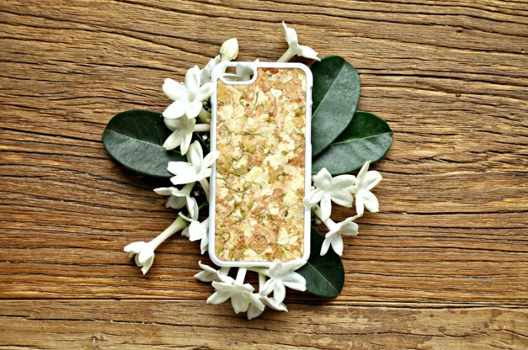 Organika case - Jasmine petals