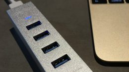 GearDiary Choetech Aluminum 4 Port USB 3.0 to Type-C Hub: Just What Your MacBook Needs
