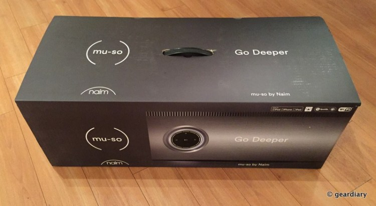 Naim's Mu-so Hi-Fi Home Stereo System Is One Amazing Home Audio System