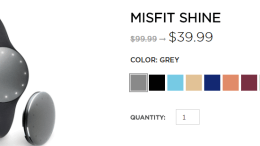 Misfit Wearables Offers Up a Huge Sale!