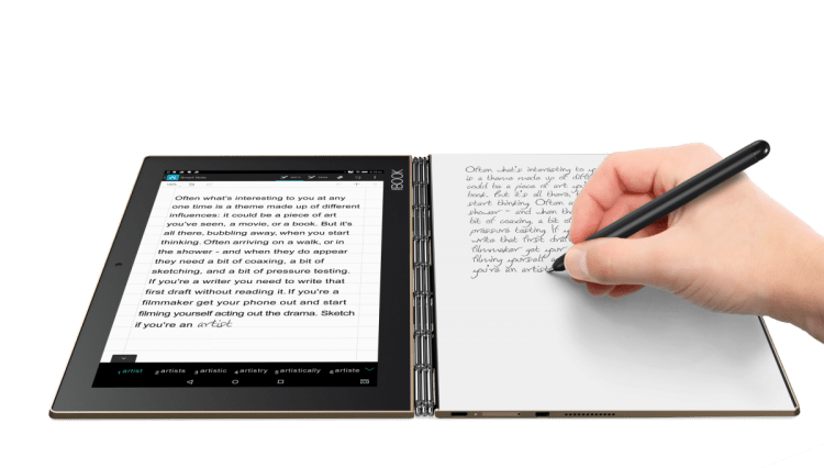 GearDiary Lenovo Launches Amazing New Android and Windows Yoga Books; I Want One!