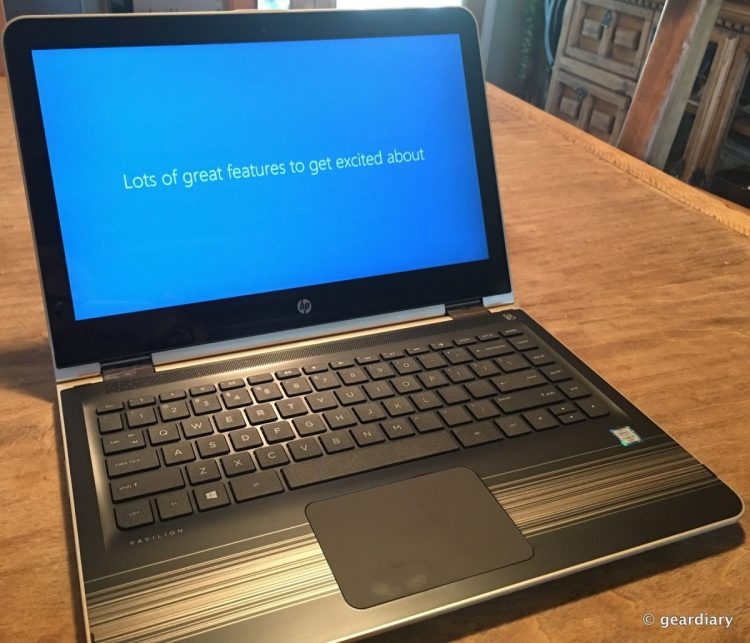 """GearDiary Send Your Students Back to School & on the Road with the Power of the HP 13.3"""" Pavilion x360 Multi-Touch 2-in-1 Notebook #ad"""