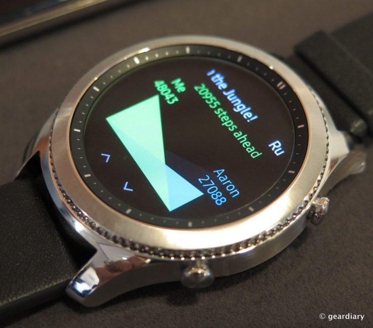 Samsung Gear S3 SmartWatch.45