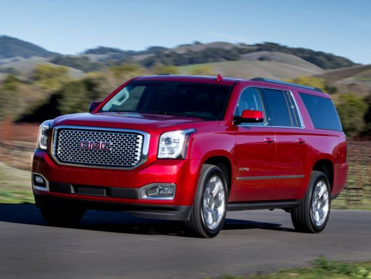 2016 GMC Yukon XL Denali/Images courtesy GMC
