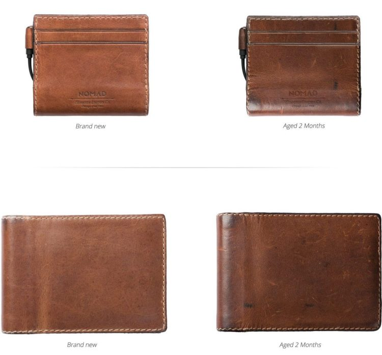 Nomad's Leather Wallets Charge Your Phone While Carrying Your Cards
