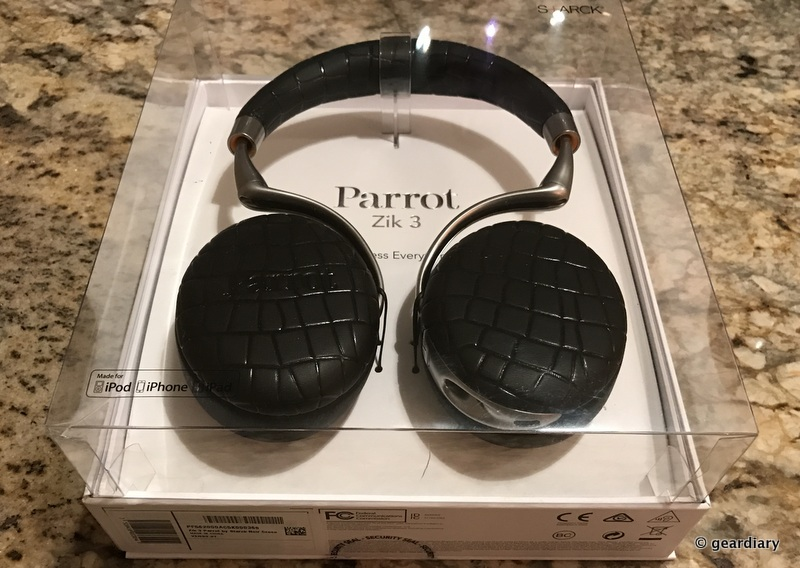 GearDiary The Parrot Zik 3 Headphones Are an Incredible Sounding Pair of Headphones