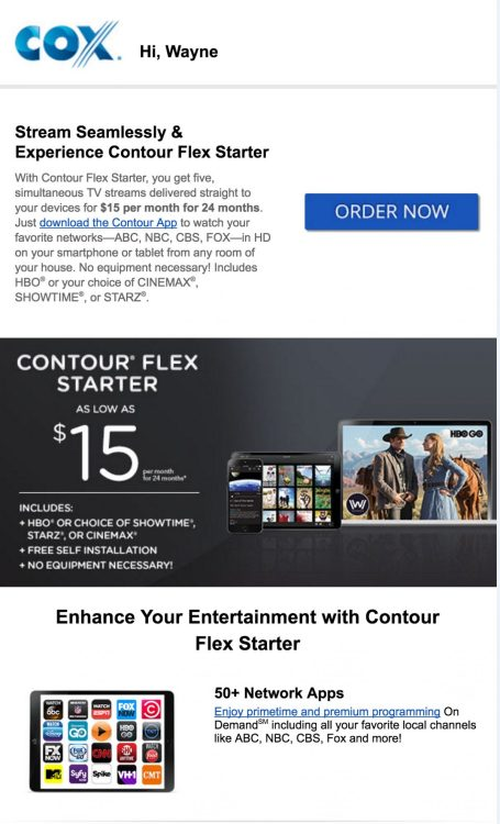 GearDiary Cox Contour Flex Starter for $15/Mo Is the Skinny Bundle I've Been Waiting For