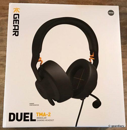 GearDiary Fnatic Gear TMA-2 Duel Modular Gaming Headset Review