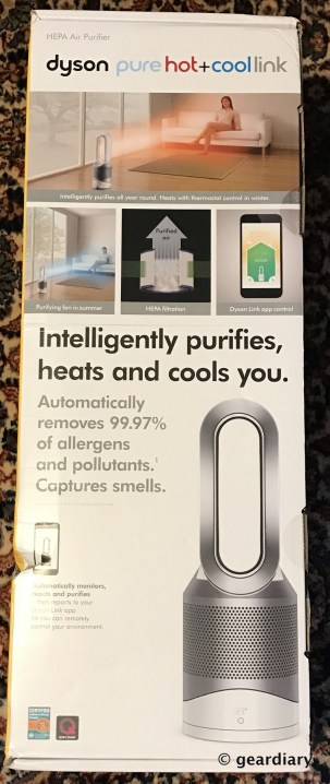 GearDiary The Dyson Pure Hot+Cool Link Air Purifier Heater & Fan Review: Pure Air with Smart Temperature Control