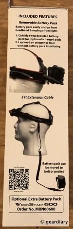 GearDiary The Maxxeon WorkStar 620 Technician's Rechargeable Hands-Free Headlamp Review