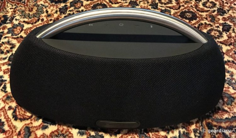 The Harman Kardon Go+Play Portable Bluetooth Speaker Review