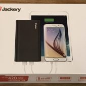 The Jackery Titan S Rechargeable Battery for Tablets and Smartphones Review