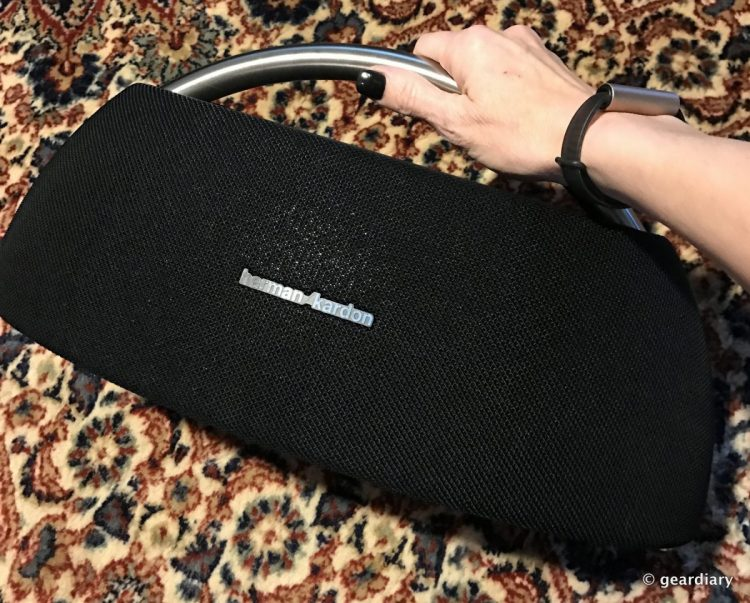 The Harman Kardon Go+Play Portable Bluetooth Speaker Review: It's Hard to Believe It's Portable!