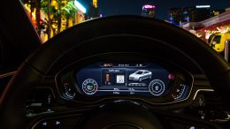 Audi Uses a City's Infrastructure to Communicate Between the Vehicle and Traffic Lights
