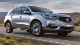GearDiary 2017 Acura MDX Gets New Face, New Content