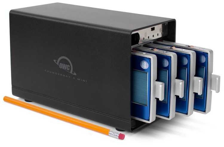 Your ssd you should really check out owc s thunderbay 4 mini raid