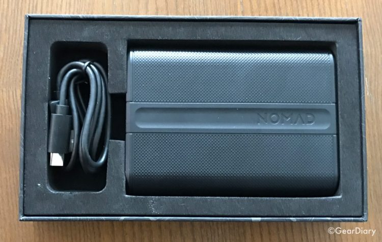 The Nomad 9000mAh PowerPack External Battery Is Ready for the Future
