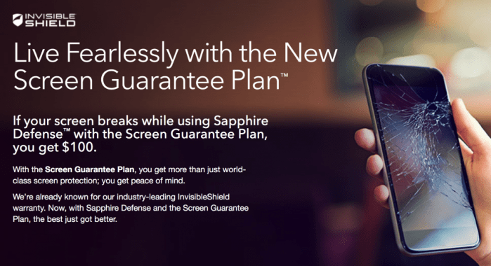 Get Mobile Confidence with the ZAGG InvisibleShield Screen Guarantee Plan