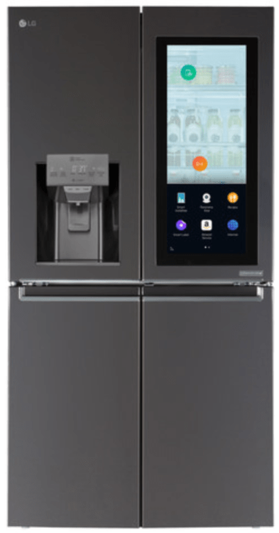 With the LG Smart InstaView Refrigerator the Smarter Future Has Arrived