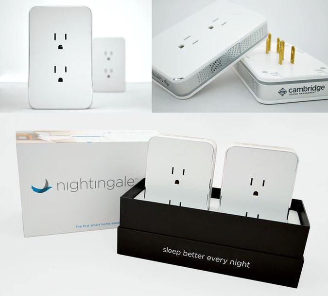 Fall Asleep Comfortably with White Noise by Using Nightingale  Fall Asleep Comfortably with White Noise by Using Nightingale