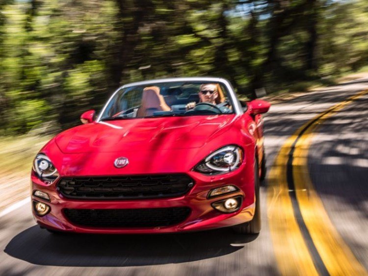 2017 Fiat 124 Spider: Now That's (Mostly) Italian!