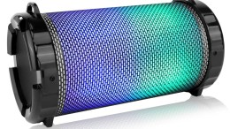 GearDiary Pyle's New Portable Bluetooth Speaker Gives You All of the Lights