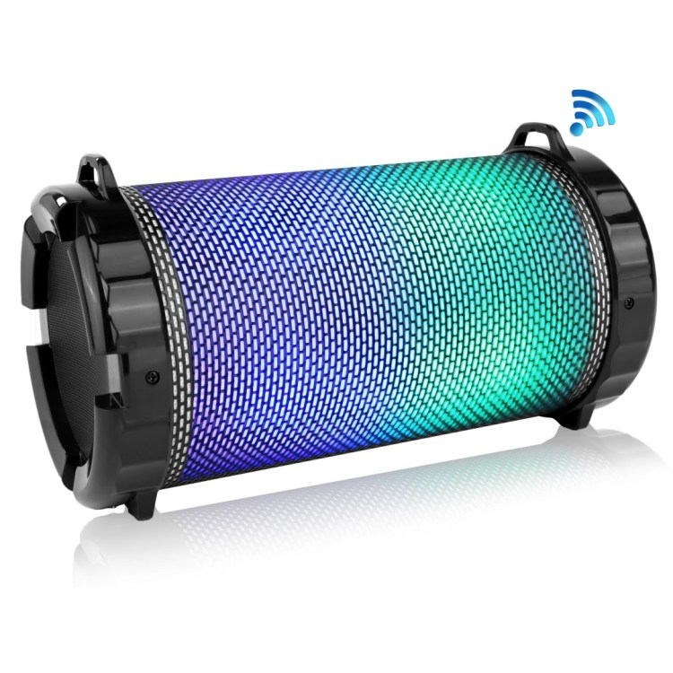 Pyle's New Portable Bluetooth Speaker Gives You All of the Lights