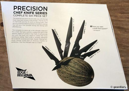 Edge of Belgravia Precision Chef Knife Series and the Black Diamond Knife Block: Functional Art for the Kitchen  Edge of Belgravia Precision Chef Knife Series and the Black Diamond Knife Block: Functional Art for the Kitchen