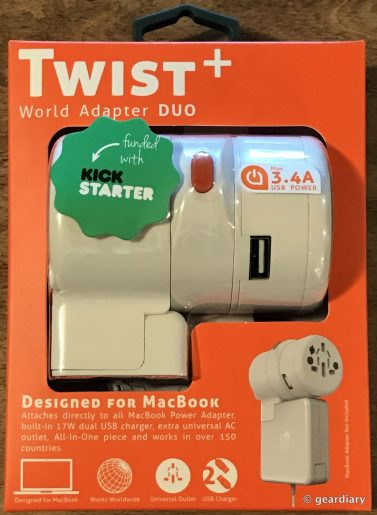 Oneadaptr Twist+ World Adapter DUO: Ready for Travel  Oneadaptr Twist+ World Adapter DUO: Ready for Travel