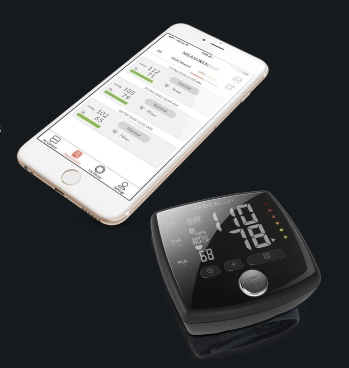 MOCAcuff Wrist Monitor Makes Blood Pressure Checks Simple  MOCAcuff Wrist Monitor Makes Blood Pressure Checks Simple  MOCAcuff Wrist Monitor Makes Blood Pressure Checks Simple  MOCAcuff Wrist Monitor Makes Blood Pressure Checks Simple  MOCAcuff Wrist Monitor Makes Blood Pressure Checks Simple