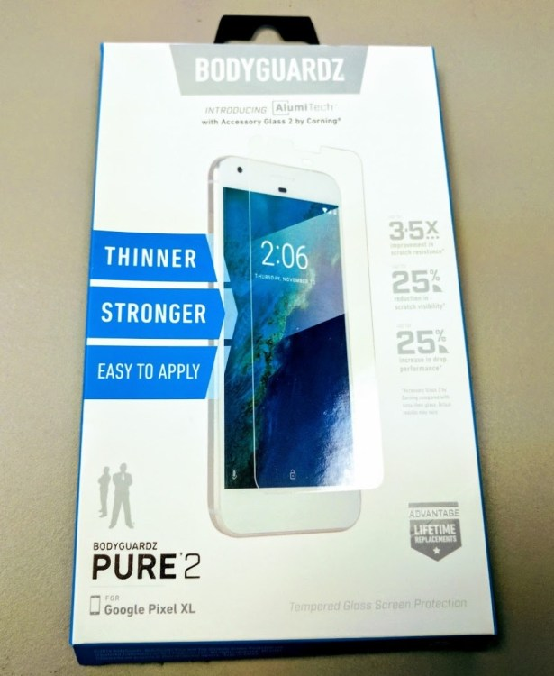BodyGuardz Pure 2 for Google Pixel XL: The Most Smudgeproof Protection Ever?