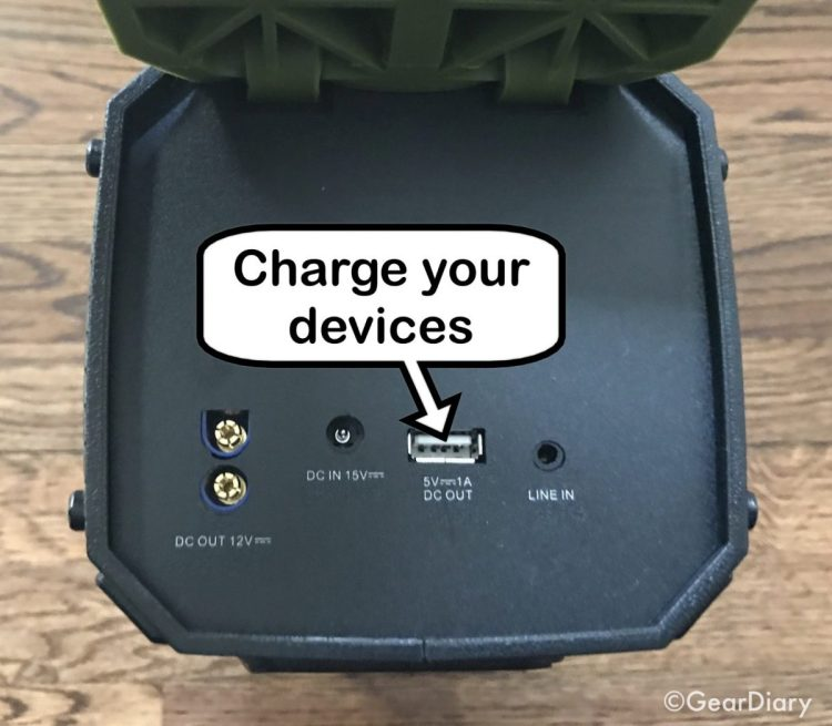 Dreamwave Survivor Speaker and Emergency Car Battery Starter Is a Powerhouse