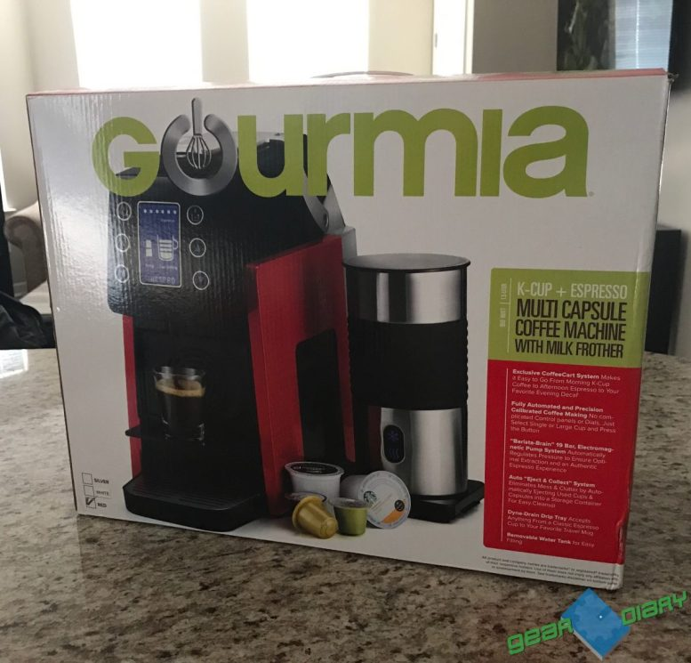 GearDiary There's No Need for Starbucks with Gourmia's Coffee Maker in Your Home