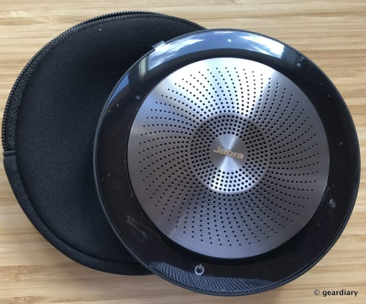 GearDiary Jabra Speak 710: Great for Conference Calls and Desktop Speaker Use