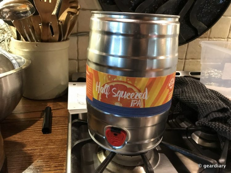 Brewing Beer with the PicoBrew Pico S: Racking, Kegging, and Tasting!