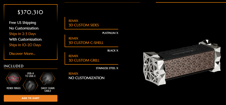 V-MODA REMIX Bluetooth Speaker: A Customizable Powerhouse