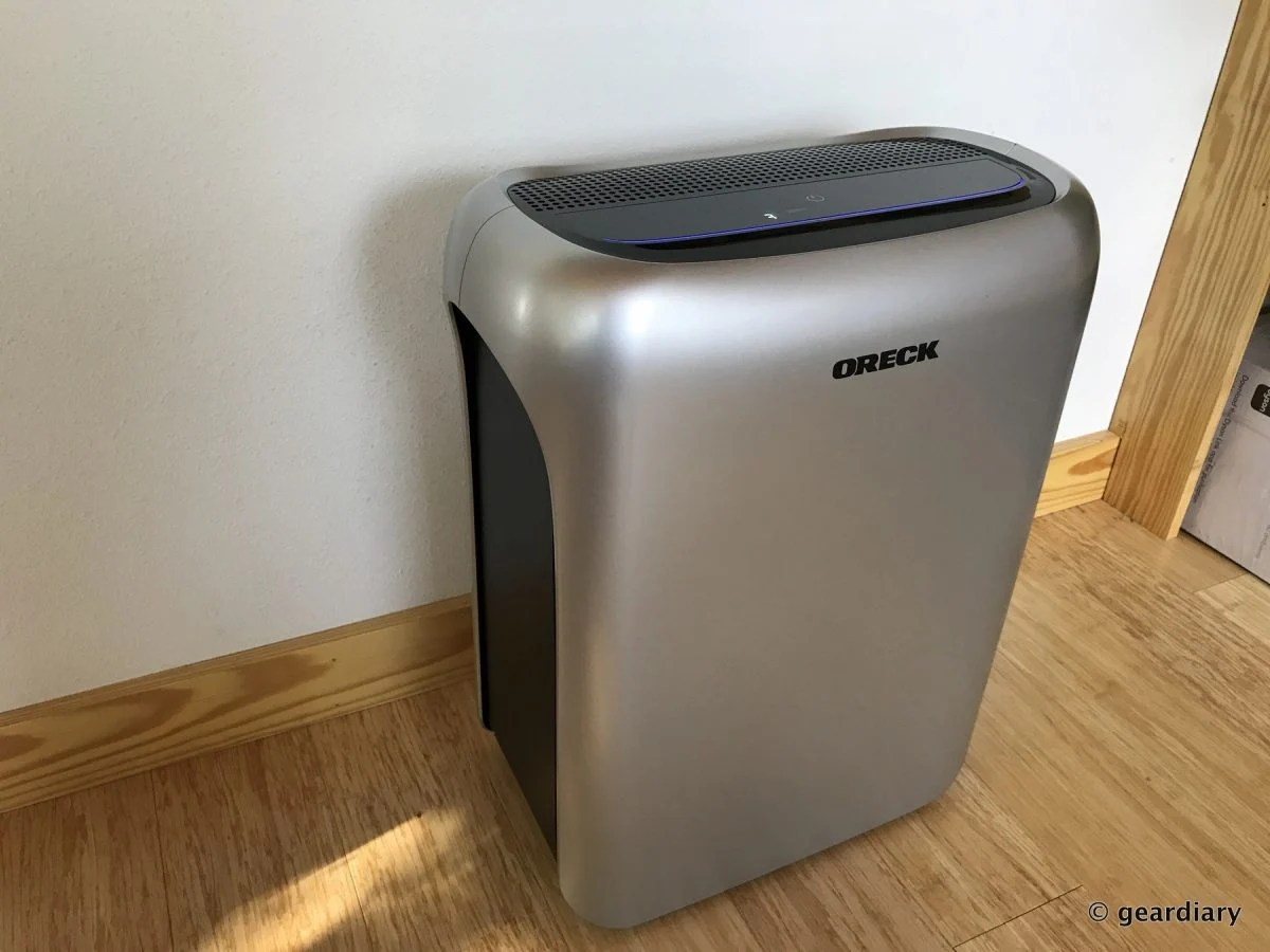 GearDiary Oreck Air Response Air Purifier Review: Quiet, Powerful, and Worth It