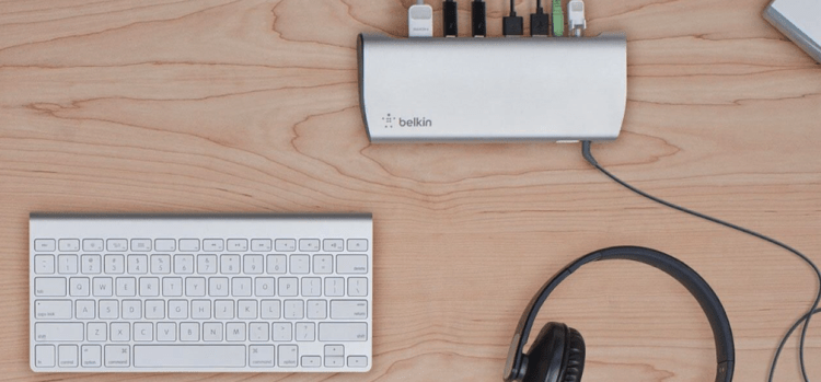 Belkin's Thunderbolt 3 Express Dock HD with Cable Is Your 2016 MacBook Pro's Best Friend